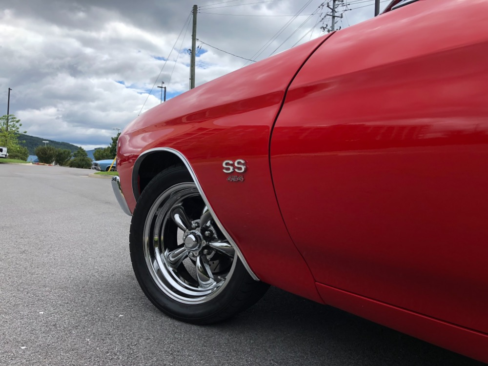 Used 1971 Chevrolet Chevelle -SS454/ 4 WHEEL DISC/12 BOLT/PS-NEW PAINT-RELIABLE MUSCLE CAR- SEE VIDEO | Mundelein, IL
