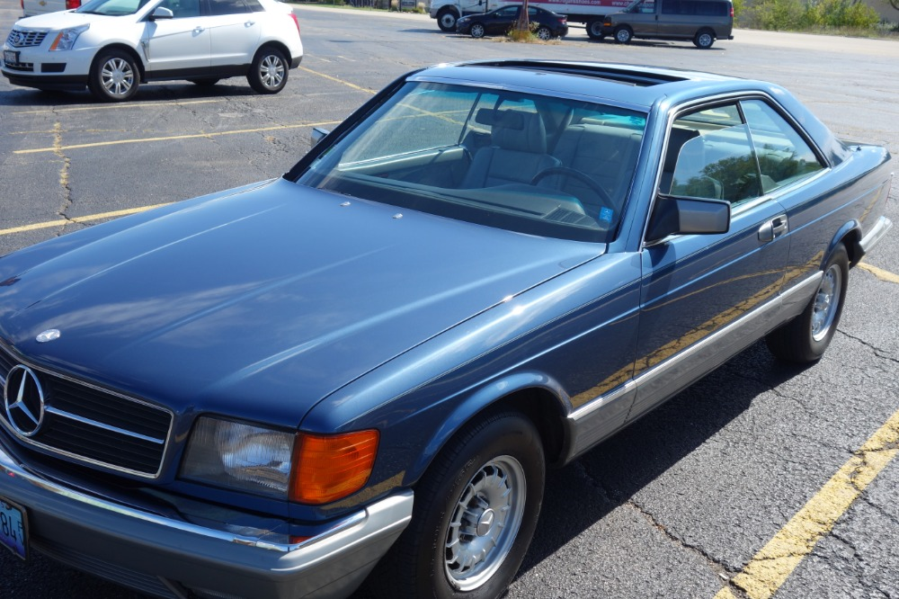 Used 1984 Mercedes Benz 500 SEC -Ride n Luxury - RARE 2 DOOR COUPE=GREAT CONDITION- | Mundelein, IL