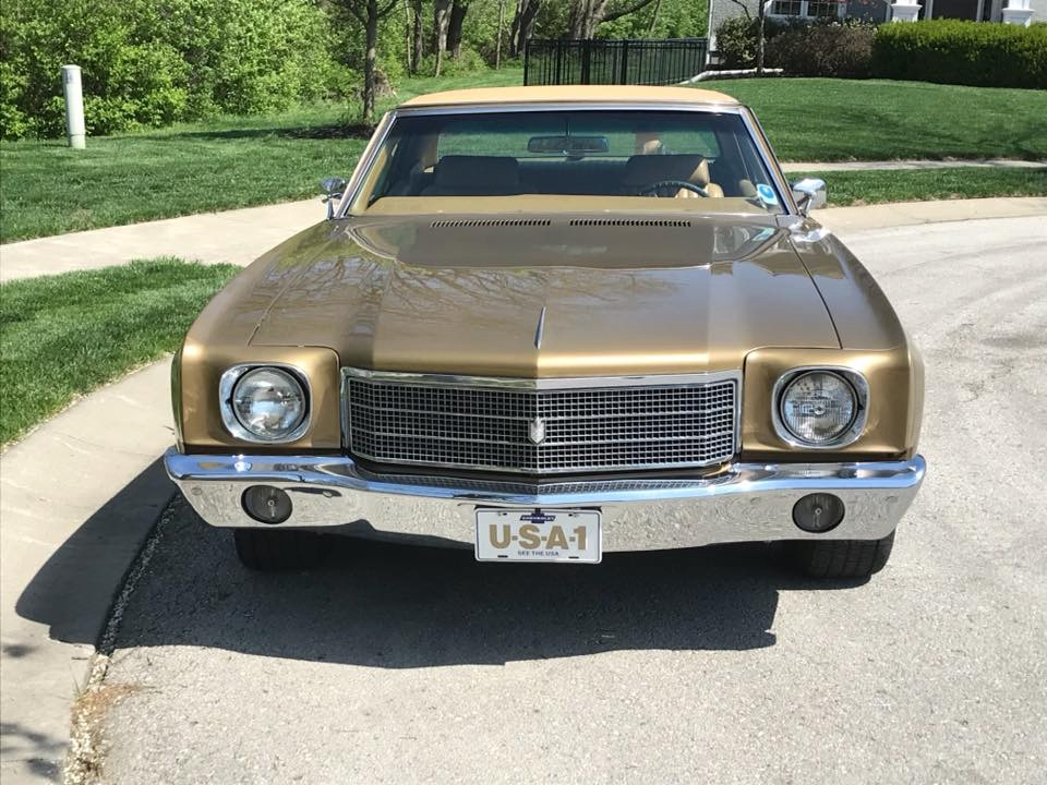 Used 1970 Chevrolet Monte Carlo -CREAM PUFF-BUCKET SEATS-RELIABLE/SOLID BOWTIE MUSCLE CAR-   Mundelein, IL