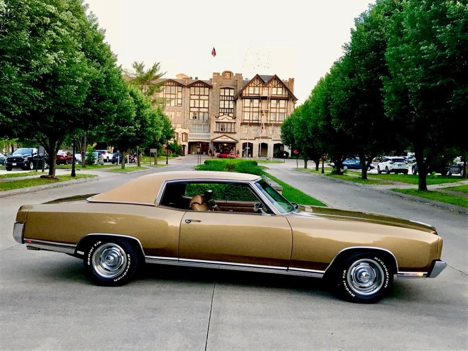 Used 1970 Chevrolet Monte Carlo -CREAM PUFF-BUCKET SEATS-RELIABLE/SOLID BOWTIE MUSCLE CAR- | Mundelein, IL