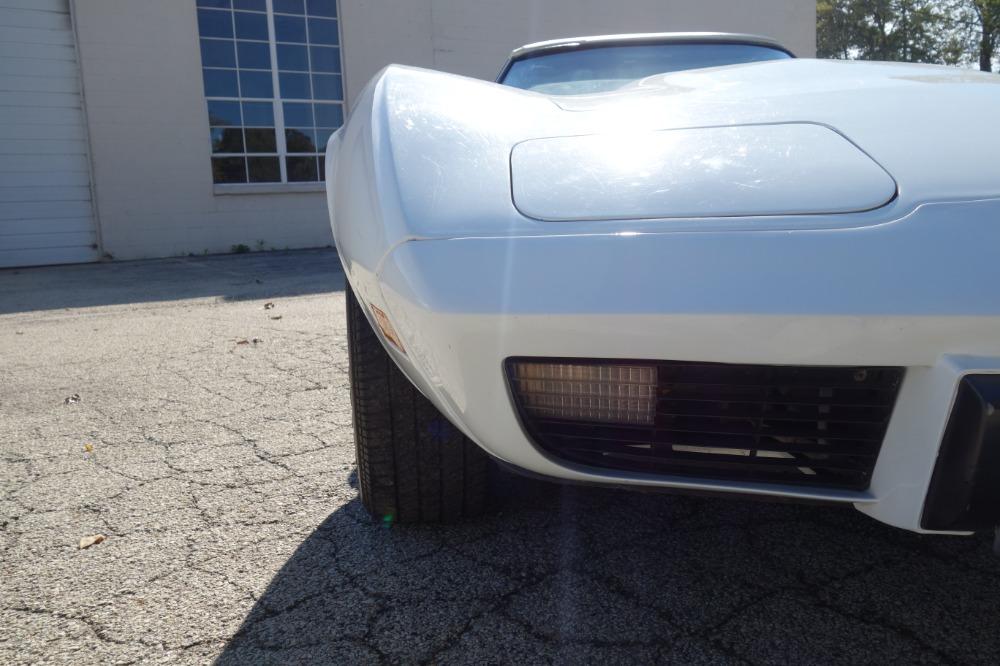 Used 1975 Chevrolet Corvette -WHITE ON WHITE CONVERTIBLE SUMMER FUN- SEE VIDEO | Mundelein, IL