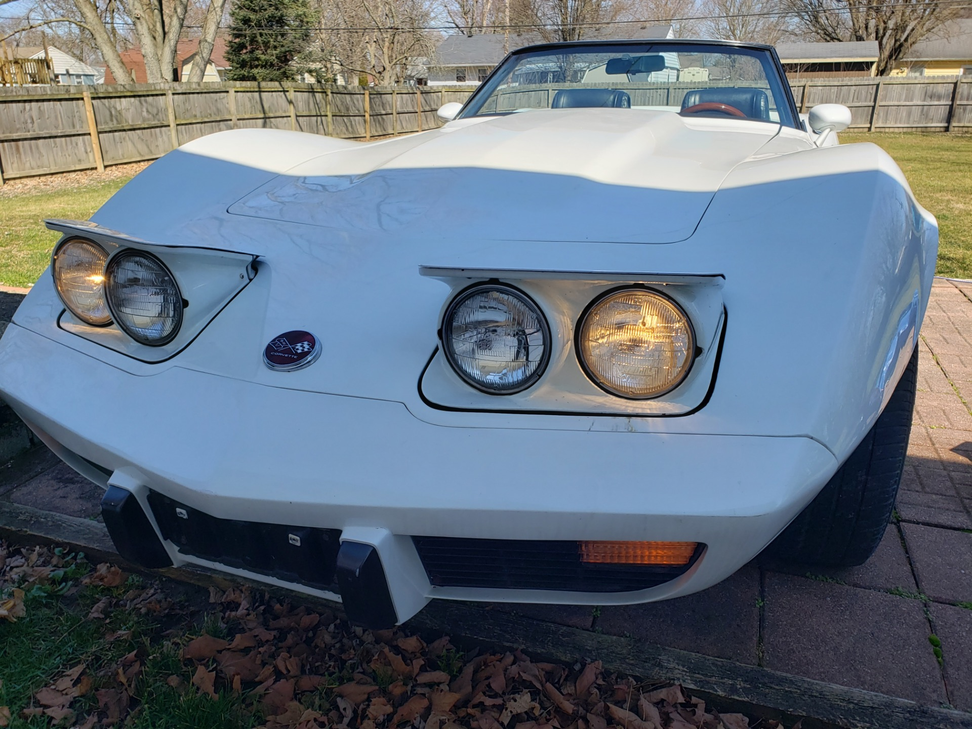 Used 1975 Chevrolet Corvette -WHITE ON WHITE CONVERTIBLE SUMMER FUN- SEE VIDEO | Mundelein, IL