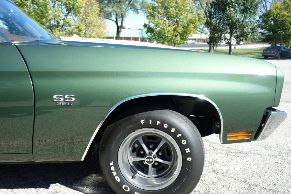 Used 1970 Chevrolet Chevelle -L78 ENGINE -TWO BUILD SHEETS-FACTORY SS396-4 SPEED-RESTORED-SEE VIDEO | Mundelein, IL