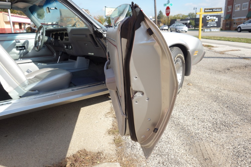 Used 1979 Pontiac Firebird -TRANS AM -T TOPS-10TH SILVER ANNIVERSARY-LOW MILES-COLLECTORS EDITION-REAL | Mundelein, IL
