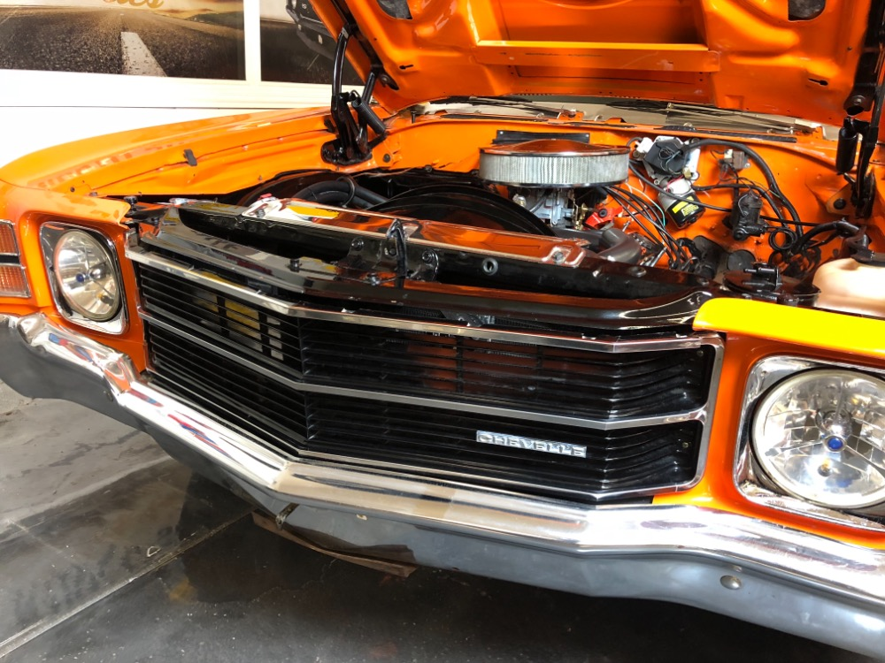 Used 1971 Chevrolet Chevelle -RESTORED 2015-HUGGER ORANGE-PRO TOUR LOOK-REAL NICE PAINT- SEE VIDEO | Mundelein, IL