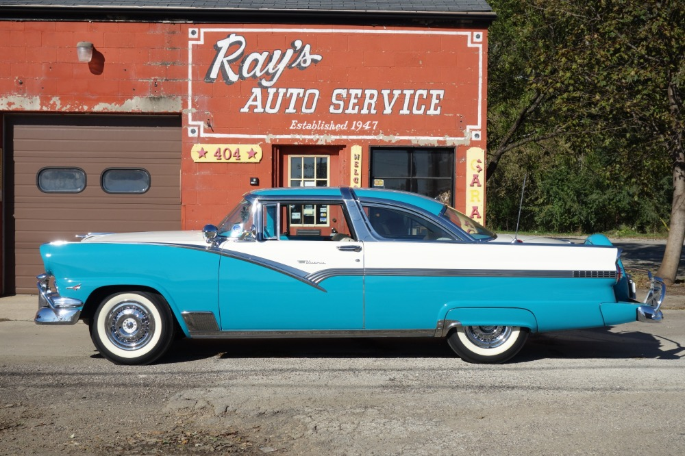 Used 1956 Ford Crown Victoria - FAIRLANE - RESTORED GROUND UP - CONTINENTAL KIT W/ DUAL SPOTLIGHTS -VIDEO | Mundelein, IL