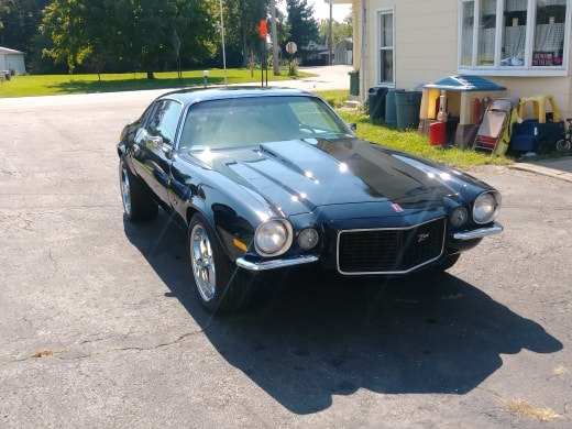 Used 1973 Chevrolet Camaro -468 BIG BLOCK/4SPD-10 BOLT-NICE COLOR-PRO TOURING LOOK-VIDEO | Mundelein, IL