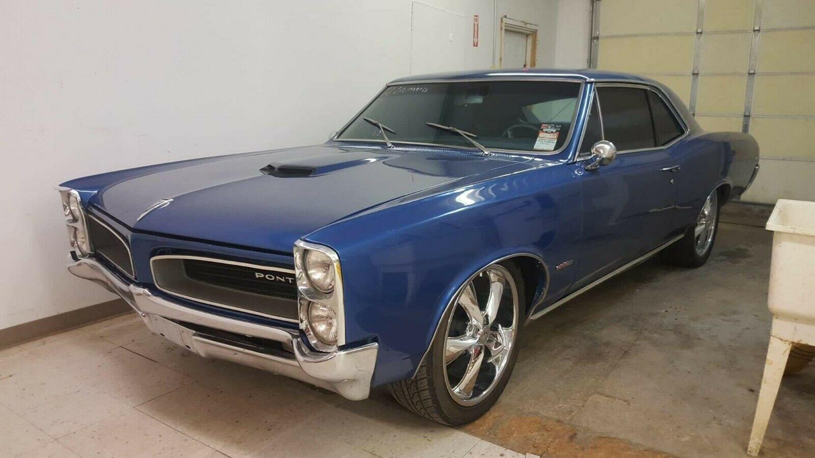 Used 1966 Pontiac Lemans - DRIVER CLASSIC -LEMANS BLUE 400/400-LIKE GTO-VIDEO | Mundelein, IL