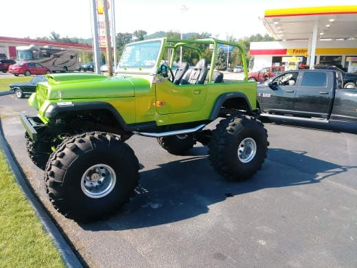 Used 1992 Jeep YJ -LIME GREEN 4X4-FRAME OFF RESTORATION-COYOTE ENGINE- | Mundelein, IL