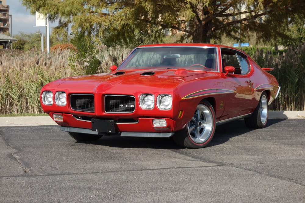 Used 1970 Pontiac GTO -JUDGE GRAPHICS - PHS DOCUMENTED - GREAT QUALITY - SEE VIDEO | Mundelein, IL