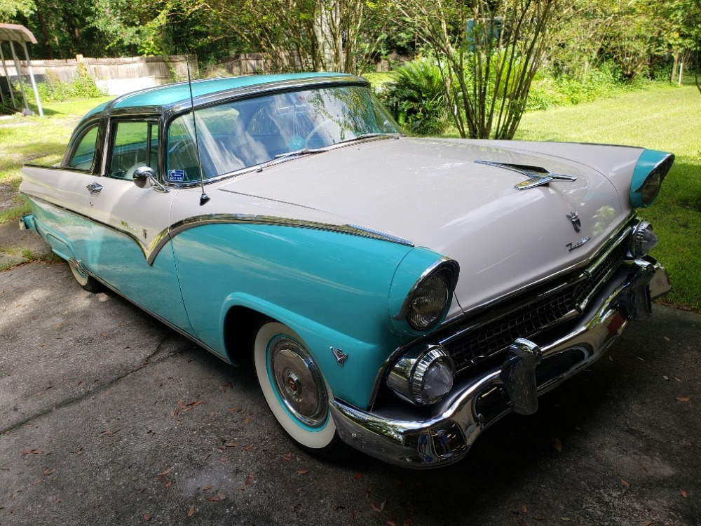 Used 1955 Ford Crown Victoria - 272 Y BLOCK V8 - CONTINENTAL KIT - | Mundelein, IL