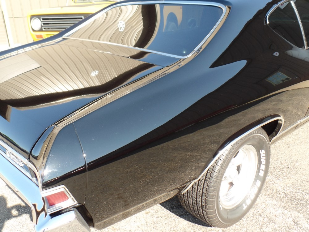 Used 1968 Chevrolet Chevelle - MALIBU - BLACK ON BLACK | Mundelein, IL