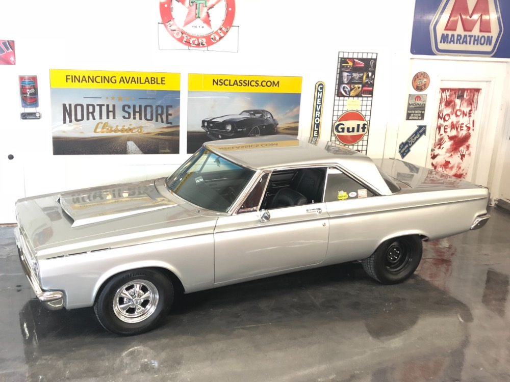 Used 1965 Dodge Coronet -500-SUPER STOCK-440 MSD NICE PAINT AUTO DANA PS PB-MOPAR MUSCLE-VIDEO | Mundelein, IL