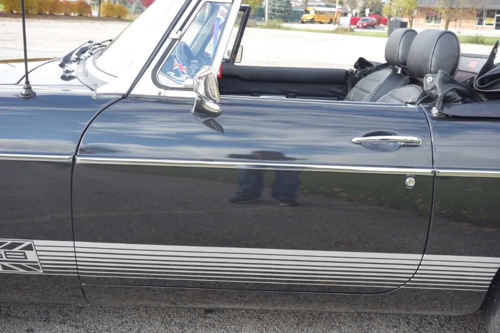 Used 1980 MG MGB -LIMITED-  DARK CHARCOAL CONVERTIBLE - SEE VIDEO | Mundelein, IL
