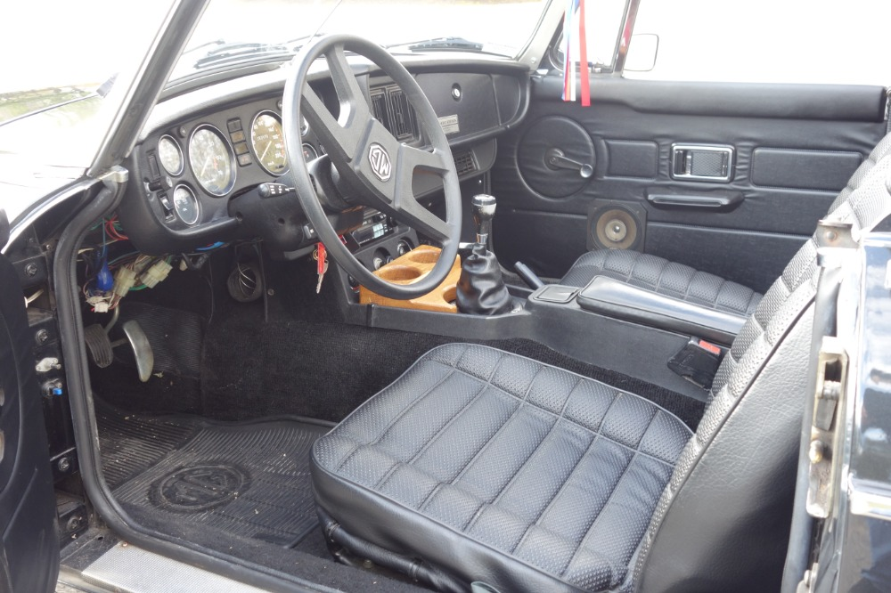 Used 1980 MG MGB -PRICE DROP -LIMITED-  DARK CHARCOAL CONVERTIBLE - SEE VIDEO | Mundelein, IL
