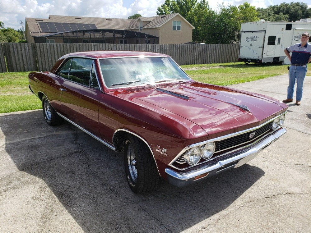 Used 1966 Chevrolet Chevelle -SUPERSPORT-  TRUE 138 CAR - CLEAN AND SOLID - 427BB-   Mundelein, IL