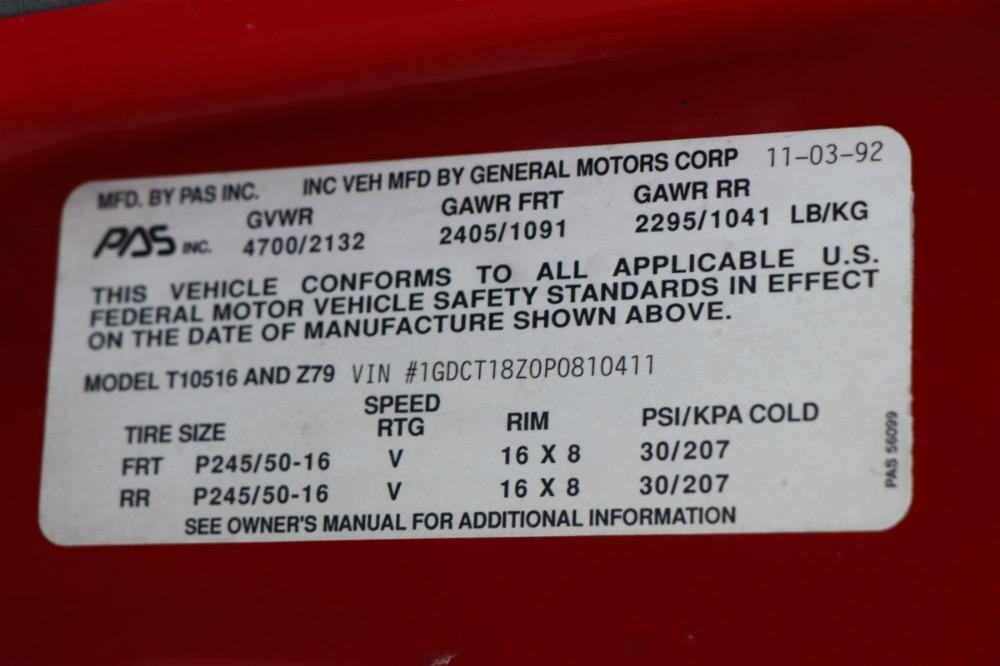 Used 1993 GMC Typhoon -Only 45k Original Miles-Bone stock-No Mods-Turbo | Mundelein, IL