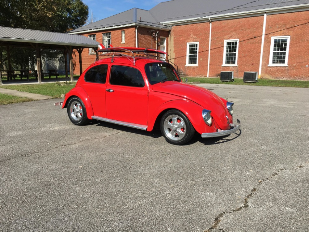 Used 1966 Volkswagen Beetle - ROOF RACK WITH SURFBOARD- SEE VIDEO | Mundelein, IL