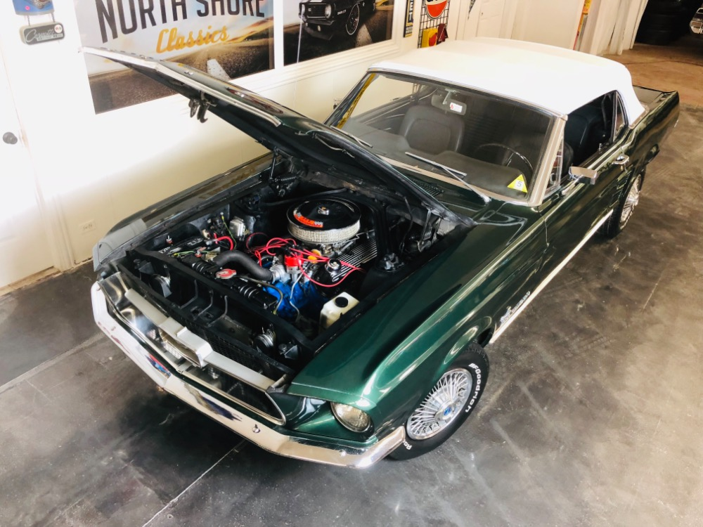 1967 Ford Mustang 289 C Code Power Top Ps Automatic