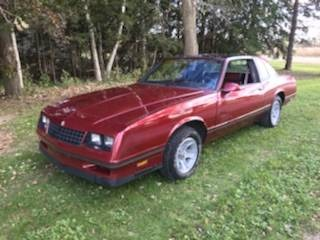 Used 1987 Chevrolet Monte Carlo -AEROCOUPE LOW MILES T TOPS 305 AUTOMATIC RELIABLE- | Mundelein, IL