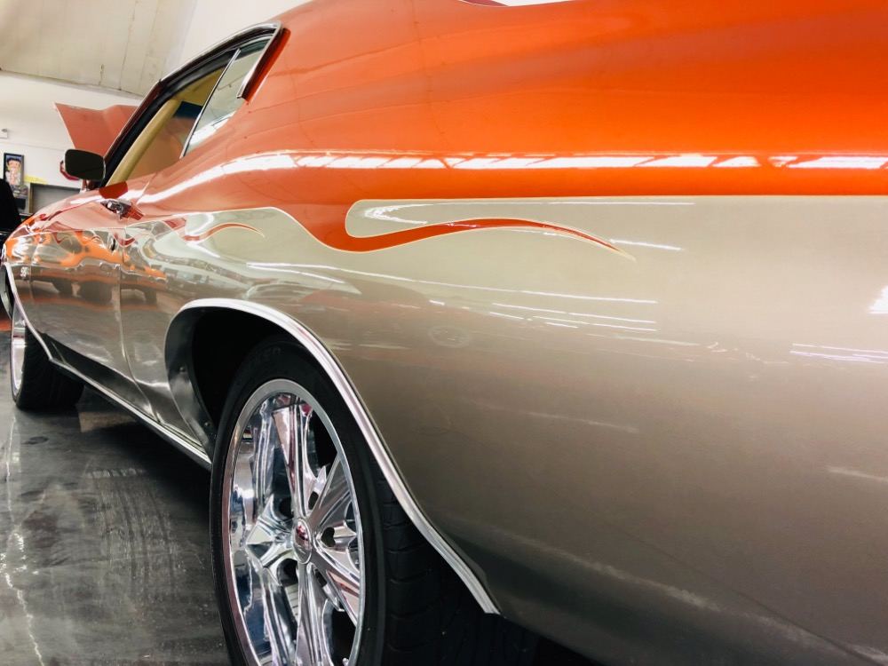 Used 1972 Chevrolet Chevelle -PRO TOURING- 396- 4 WHEEL DISC- CUSTOM PAINT - SEE VIDEO | Mundelein, IL