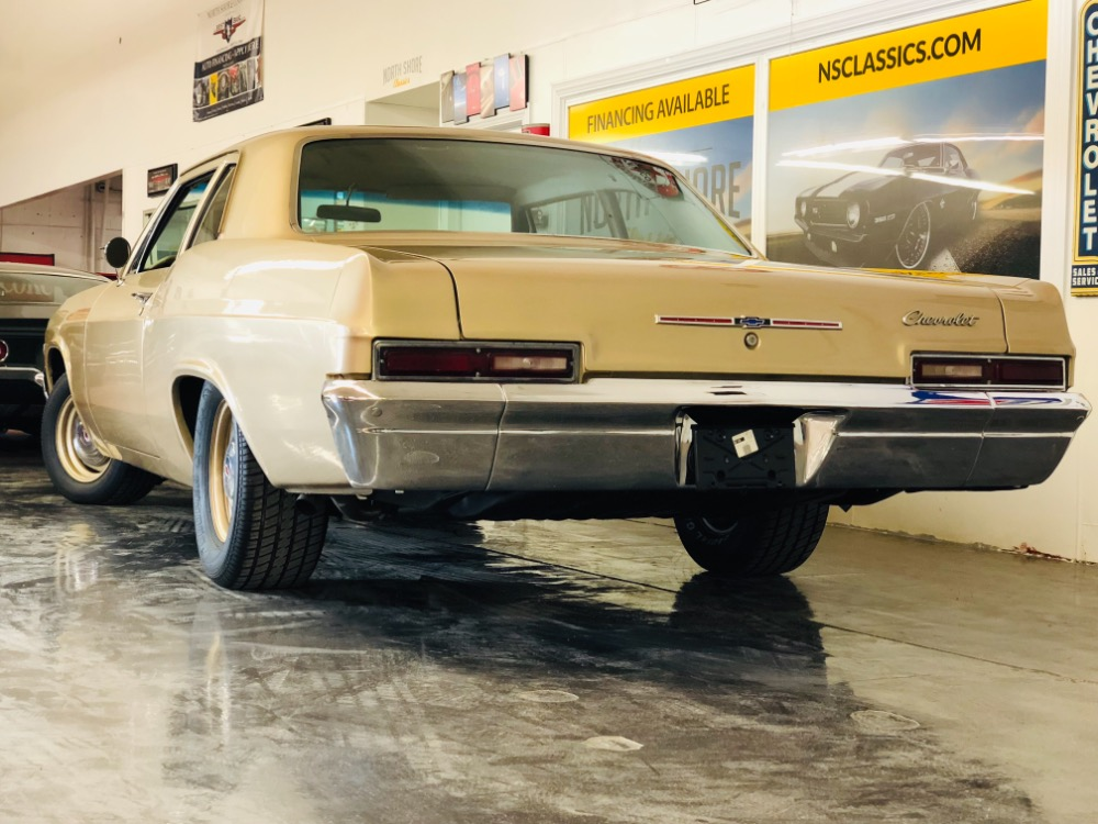 Used 1966 Chevrolet Biscayne -SANDALWOOD GOLD-454/4SPD/12BOLT-RARE FIND! MUSCLE-VIDEO | Mundelein, IL