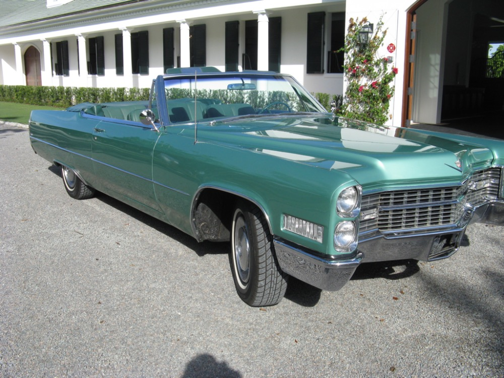 Used 1966 Cadillac DeVille CONVERTIBLE CRUISER GREAT COLOR | Mundelein, IL