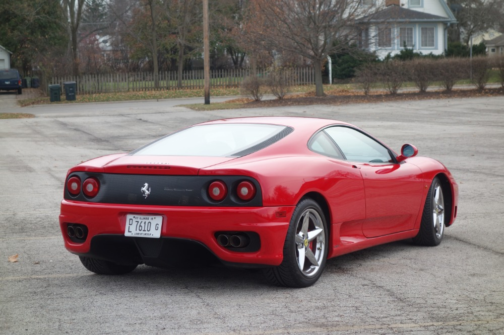 Used 1999 Ferrari Modena -360 ROSSO CORSA TAN LEATHER NICE OPTIONS-LOW MILES- | Mundelein, IL