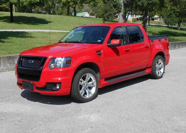 2010 Ford Pickup Explorer Sport Trac Ltd Keyless Entry