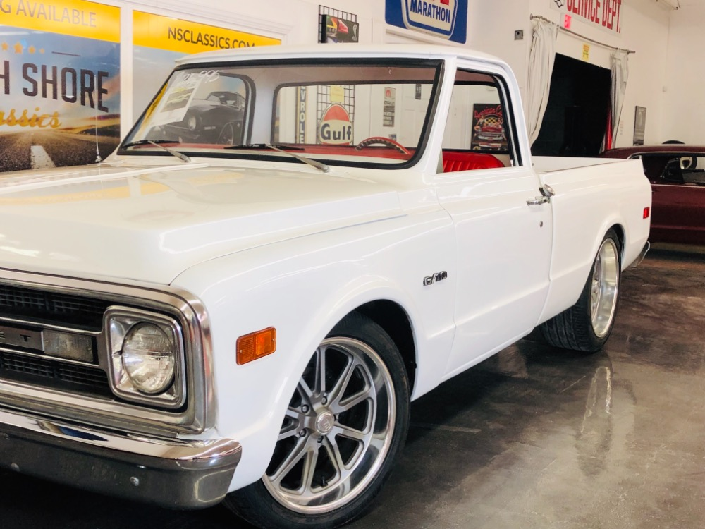 Used 1970 Chevrolet Pickup C10-LOWERED PICK UP-454 AUTO RESTORED 12B PS PB NEW INTERIOR-VIDEO- | Mundelein, IL
