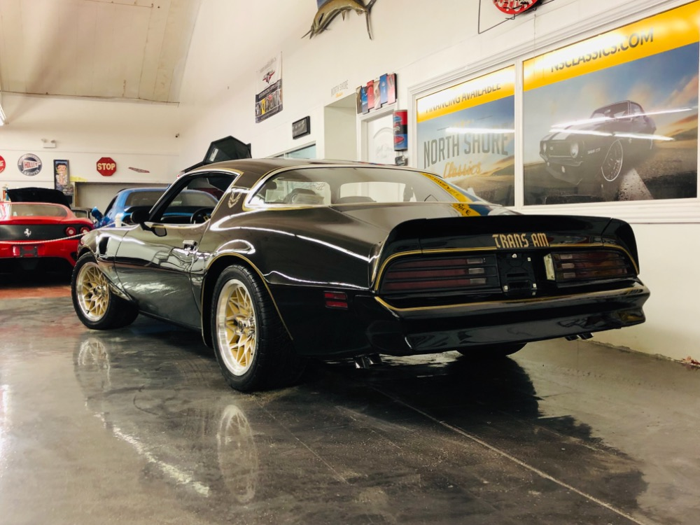 Used 1978 Pontiac Firebird -BANDIT TRANS AM-400 V8-4 SPEED-WS4 PS PB-BLACK-VIDEO | Mundelein, IL