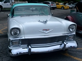 Used 1956 Chevrolet 150 -TRI FIVE GM CRATE 350 HEADERS ORIGINAL SHEETMETAL AC PS PB | Mundelein, IL