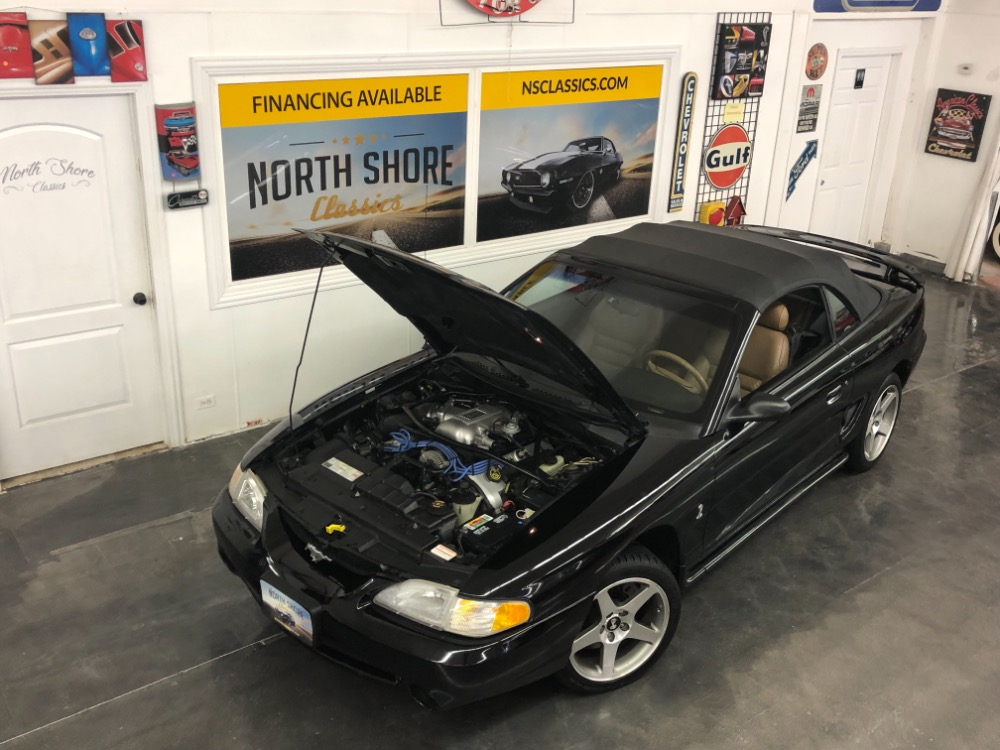 Used 1996 Ford Mustang -COBRA SVT- CONVERTIBLE- 5 SPEED TRANS -SEE VIDEO | Mundelein, IL