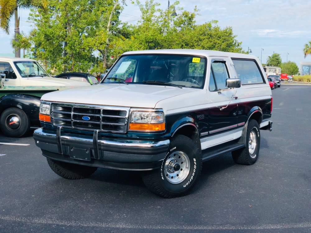 Used 1995 Ford Bronco -4x4 XLT CLEAN SUV PS PB AC FROM FLORIDA- | Mundelein, IL