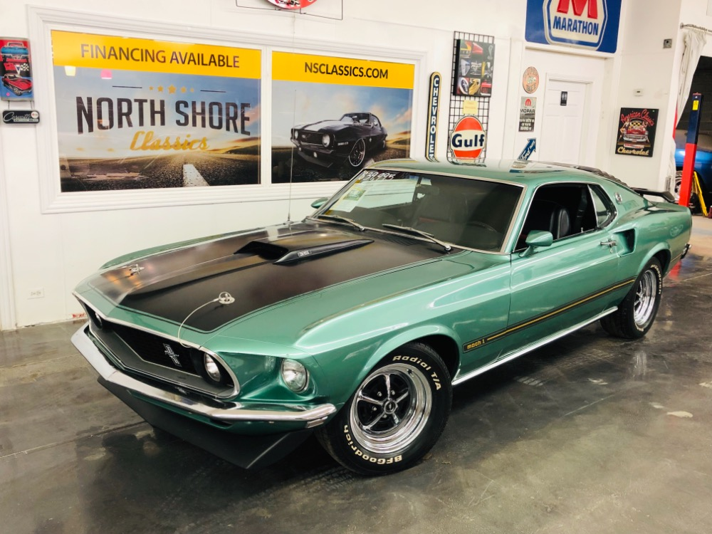 1969 Ford Mustang -MACH 1-MARTI REPORT- NUMBERS MATCHING 351