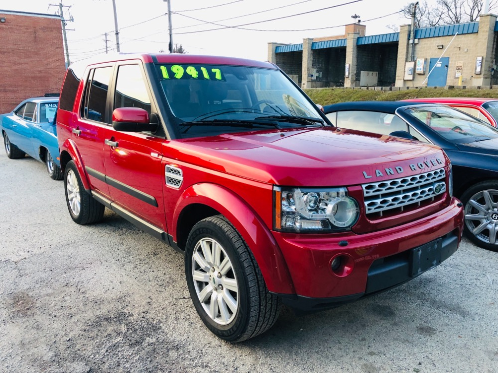 Used 2012 Land Rover LR4 -LUX HSE-4WD-ONE OWNER-NO HAGGLE-BUY IT NOW- | Mundelein, IL