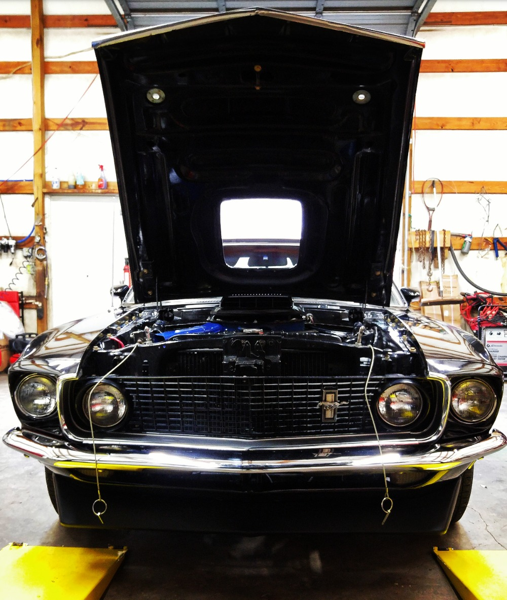 Used 1969 Ford Mustang -MACH 1-FACTORY R CODE COBRA JET 428-DULUXE MARTI REPORT | Mundelein, IL