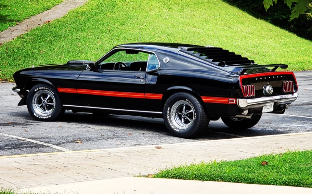 Used 1969 Ford Mustang -MACH 1-FACTORY R CODE COBRA JET 428-DULUXE MARTI REPORT   Mundelein, IL