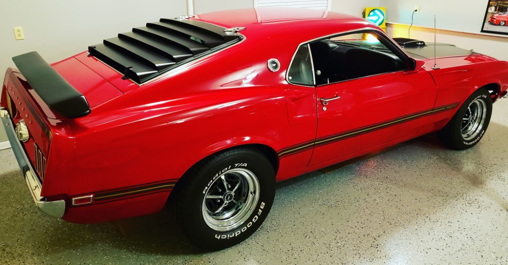 Used 1969 Ford Mustang -MACH 1-4 YEAR OLD COMPLETE RESTORATION-R-CODE COBRA JET | Mundelein, IL