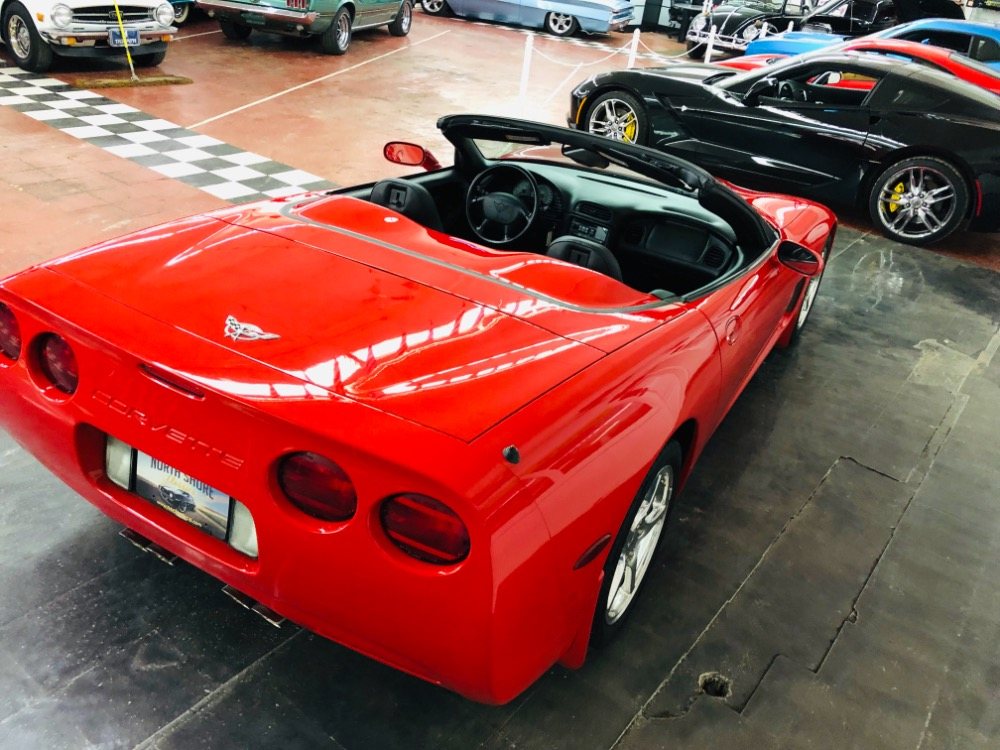 Used 2003 Chevrolet Corvette -CONVERTIBLE-LOW MILES-ROADSTER-LS1-AUTO-TORCH RED-MSRP OVER 50K- | Mundelein, IL