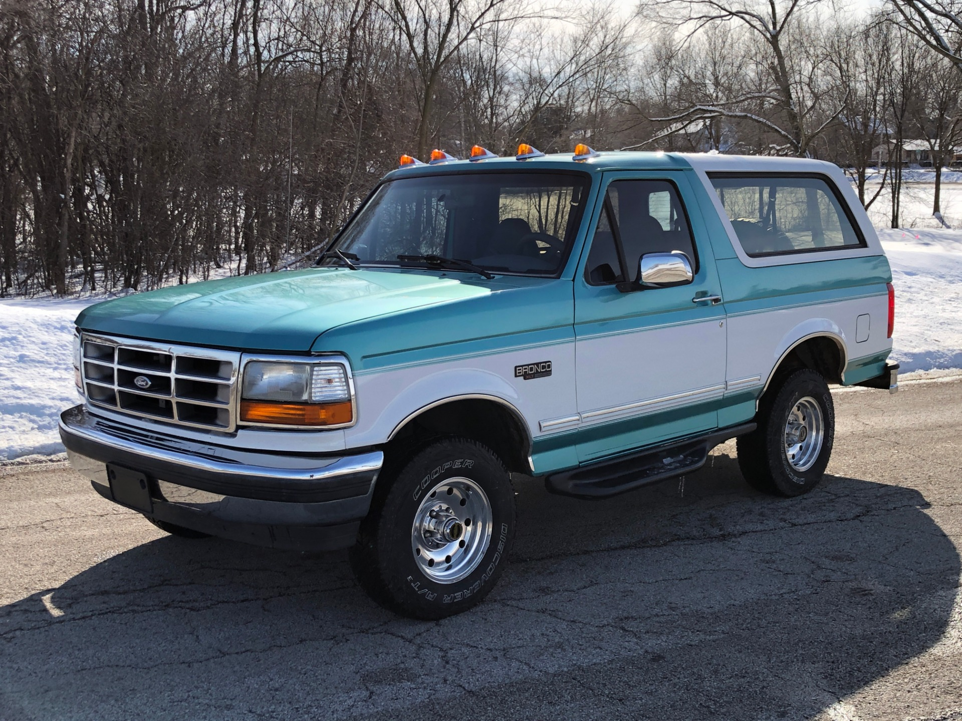 Used 1995 Ford Bronco -XLT SPORT-4x4-ARIZONA RUST FREE-ORIGINAL PAINT- | Mundelein, IL
