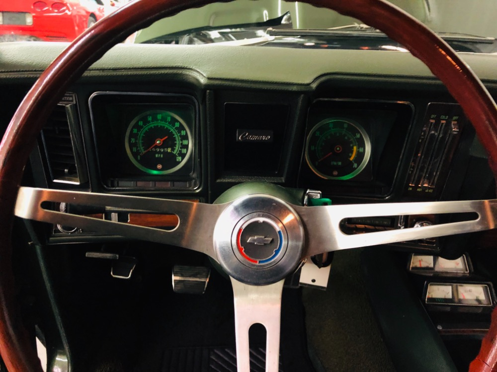 Used 1969 Chevrolet Camaro -RESTORED-BB 396/4 SPD MANUAL TRANS-PS PB-FOREST GREEN-CLASSY-VIDEO | Mundelein, IL