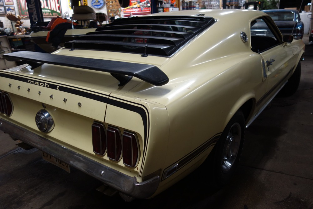 Used 1969 Ford Mustang -SUPER COBRA JET MACH 1 - ARIZONA CAR - RESTO INVESTMENT | Mundelein, IL
