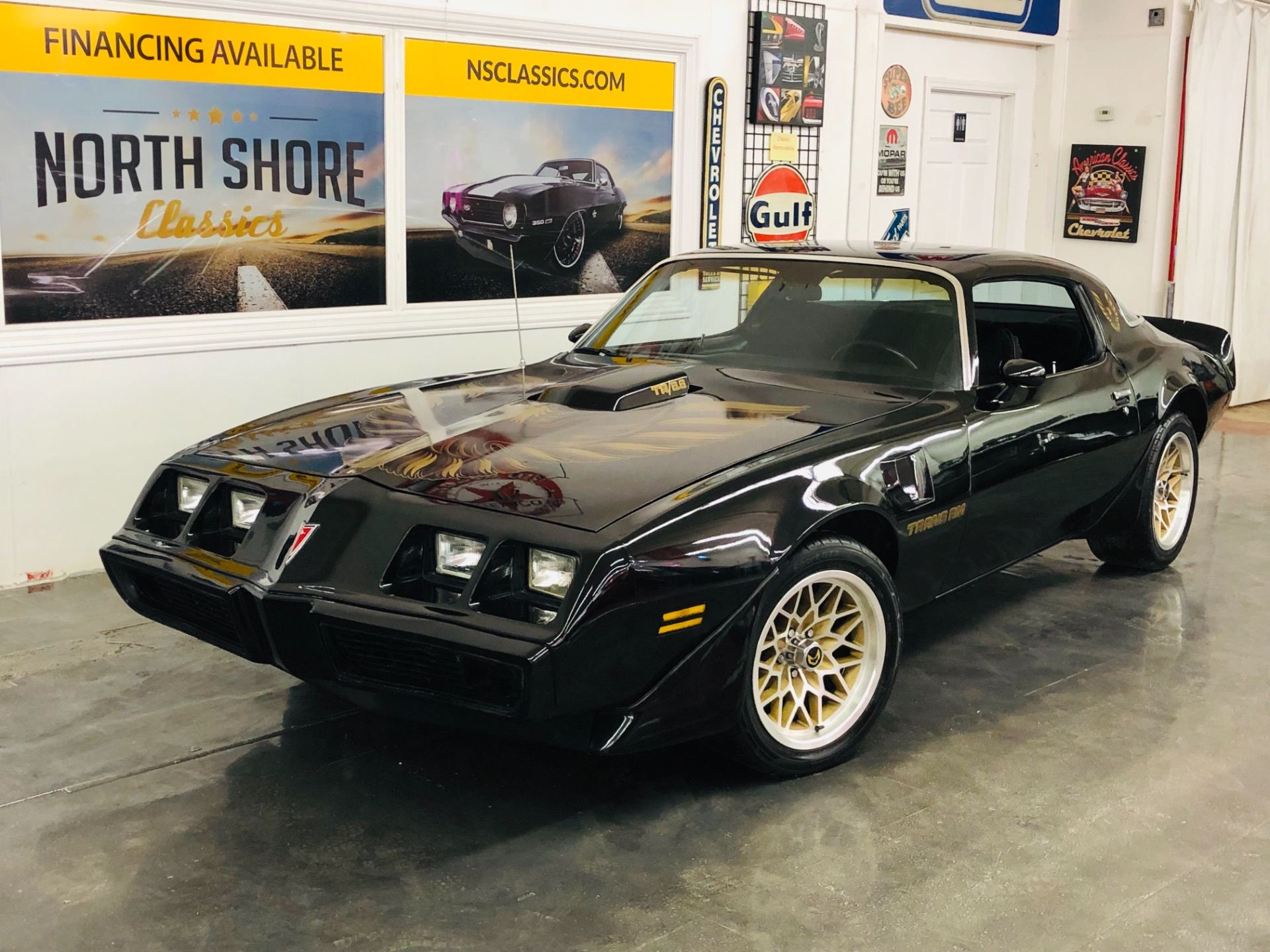 Used 1979 Pontiac Trans Am -6.6 403 ENGINE-AUTOMATIC-PRO TOURING LOOK-BLACK SMOKEY/BANDIT-VIDEO | Mundelein, IL
