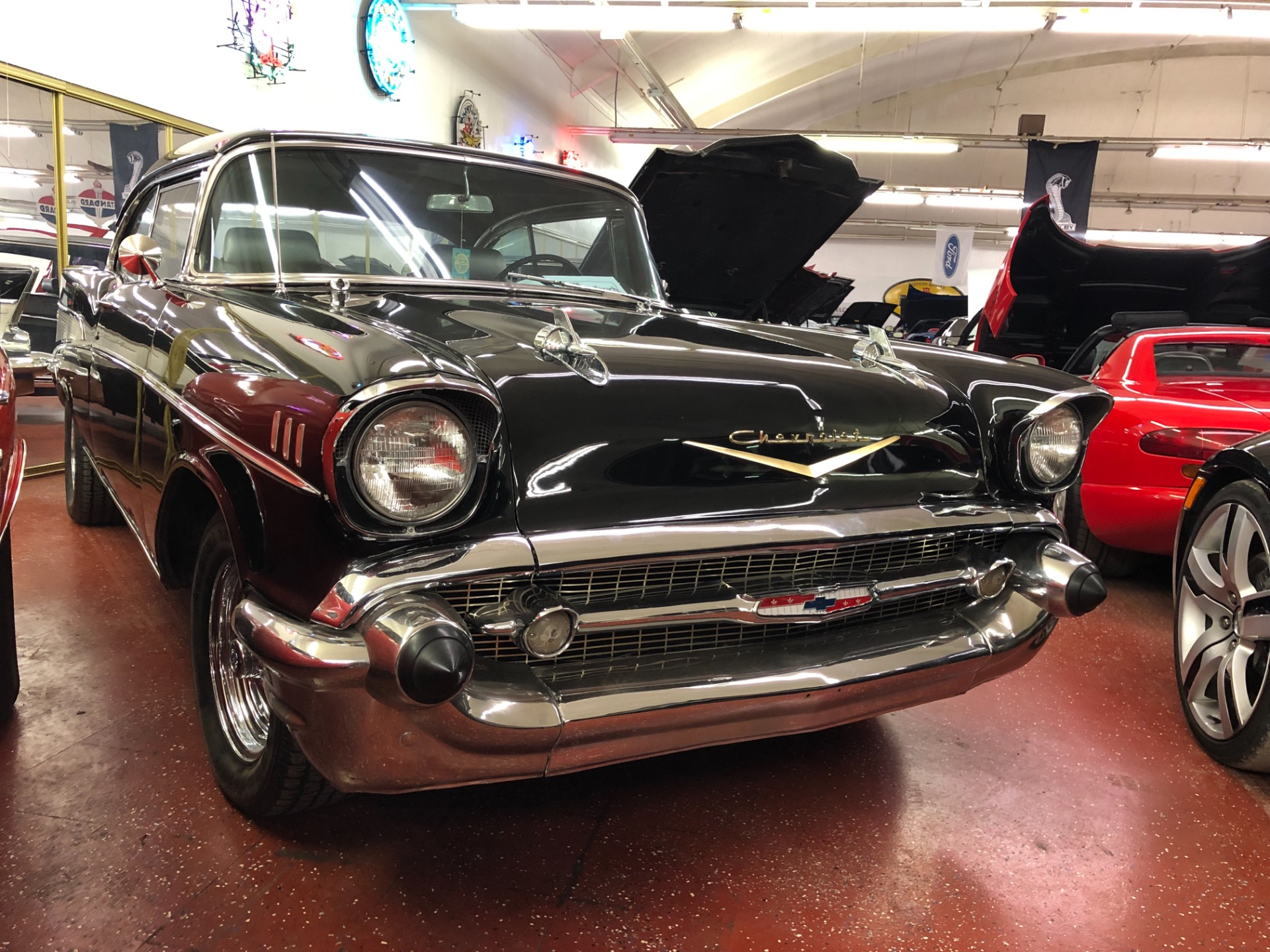 Used 1957 Chevrolet Bel Air -American Classic Hot Rod-Cragers-Same owner 35 years- | Mundelein, IL
