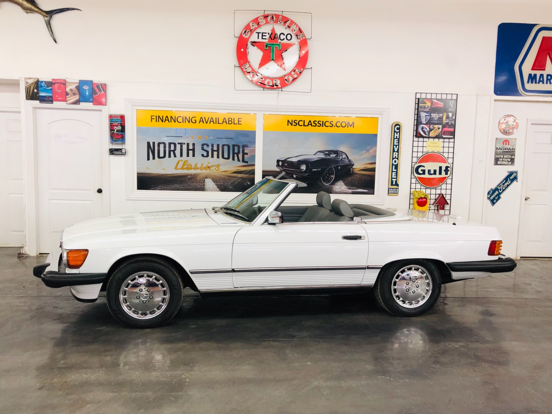 Used 1989 Mercedes Benz 560 SL -FINAL YEAR ICONIC ROADSTER/CONVERTIBLE-VIDEO | Mundelein, IL