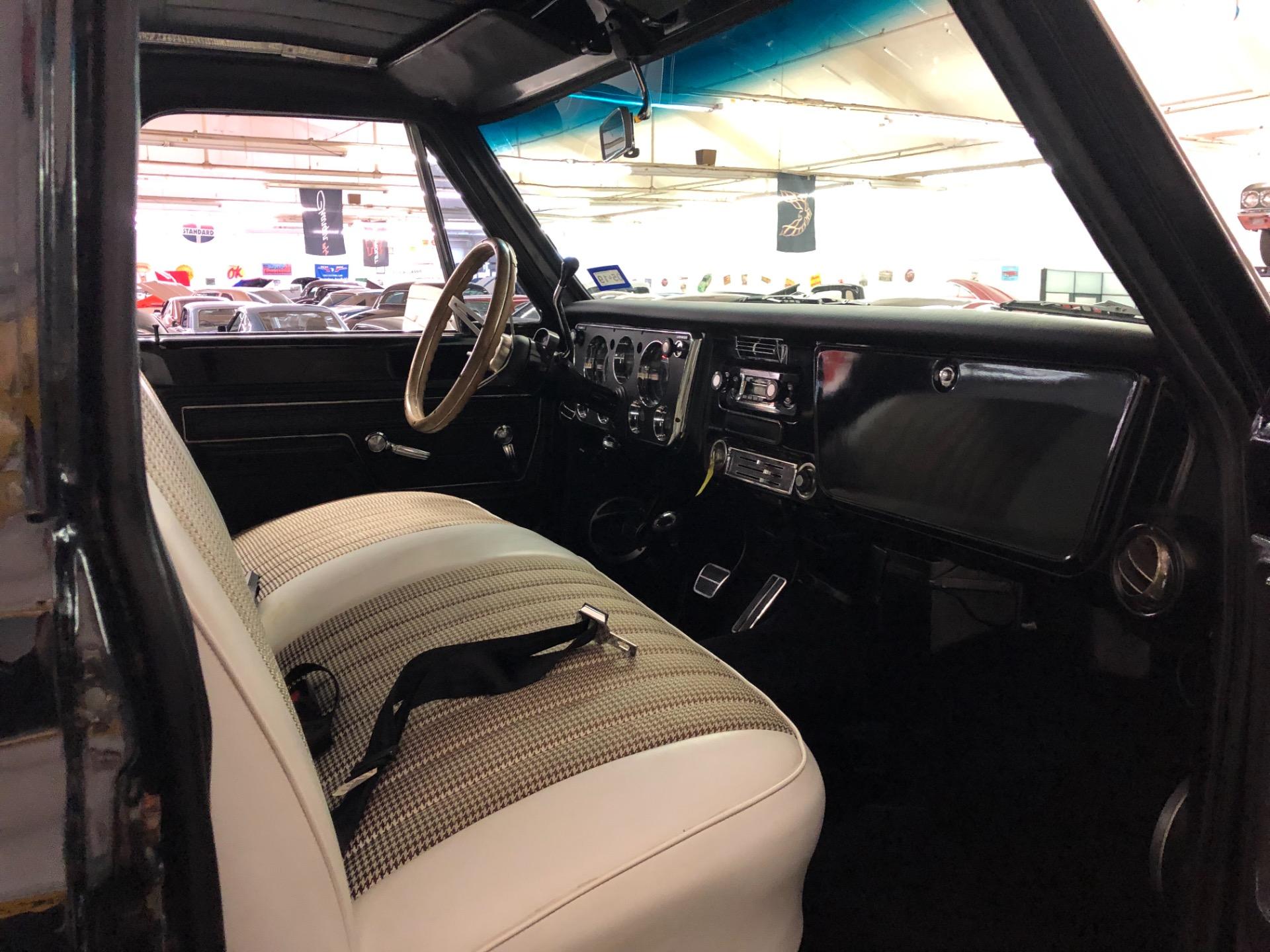 Used 1971 Chevrolet Pickup -K10-SHORTBED ARIZONA 4X4 JET BLACK 350/350-VIDEO | Mundelein, IL