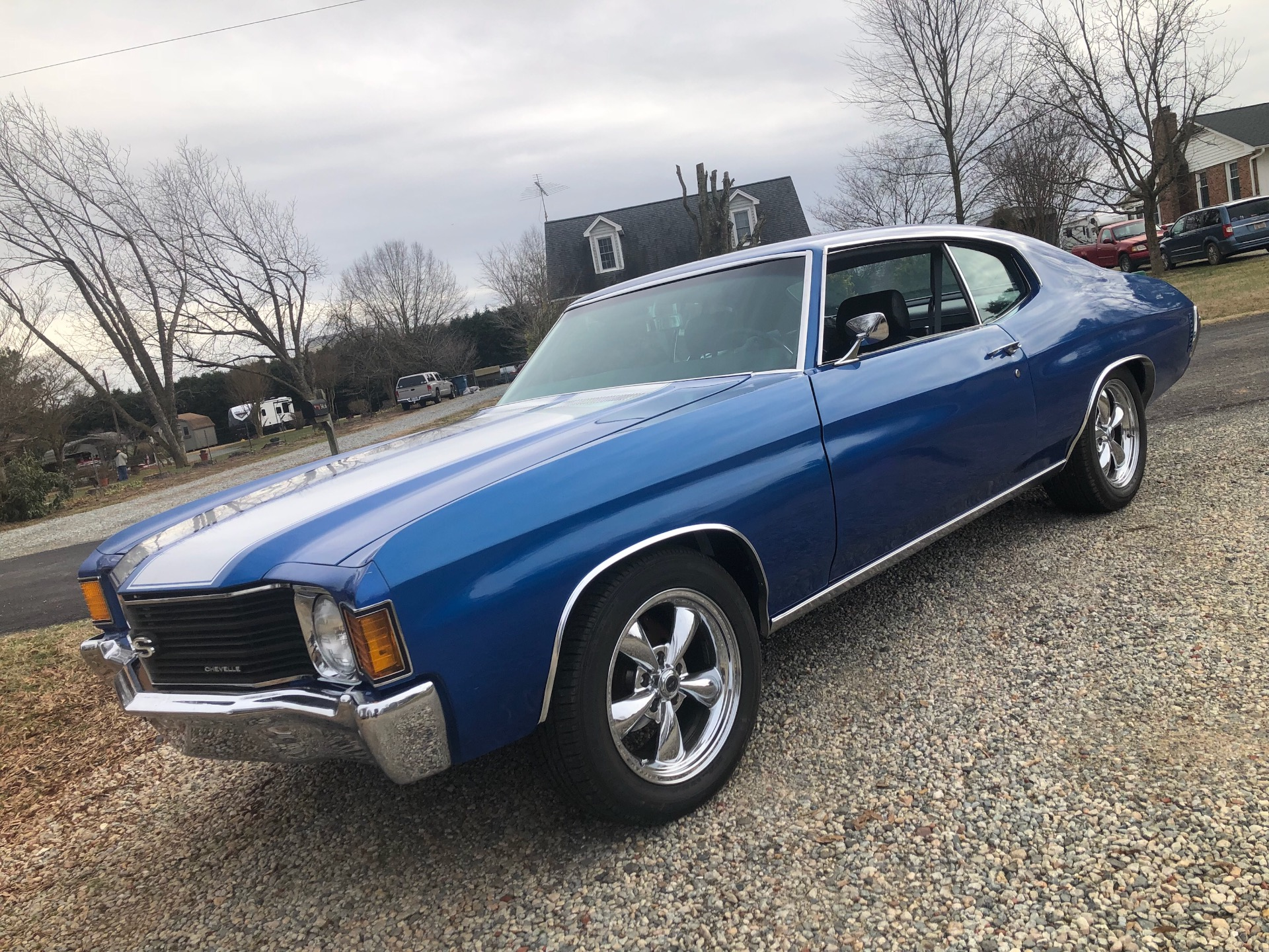 Used 1972 Chevrolet Chevelle -FRAME OFF RESTORED 2017-SS GAUGES-AIR CONDITIONING-SOLID MUSCLE CAR-VIDEO | Mundelein, IL