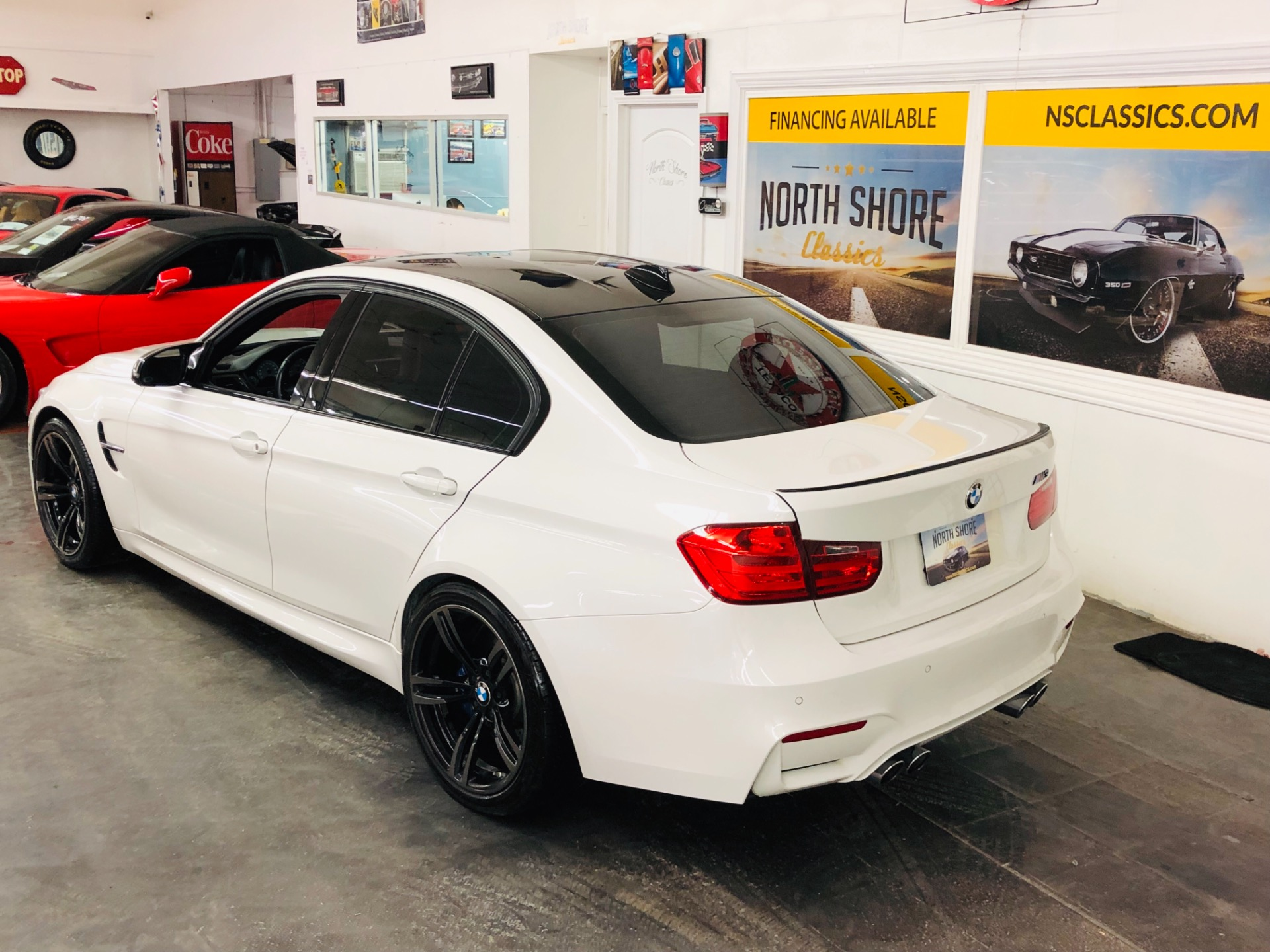 Used 2015 BMW M3 -NO HAGGLE BUY IT NOW PRICE-2 OWNER-CLEAN CARFAX-TWIN TURBO-VIDEO | Mundelein, IL