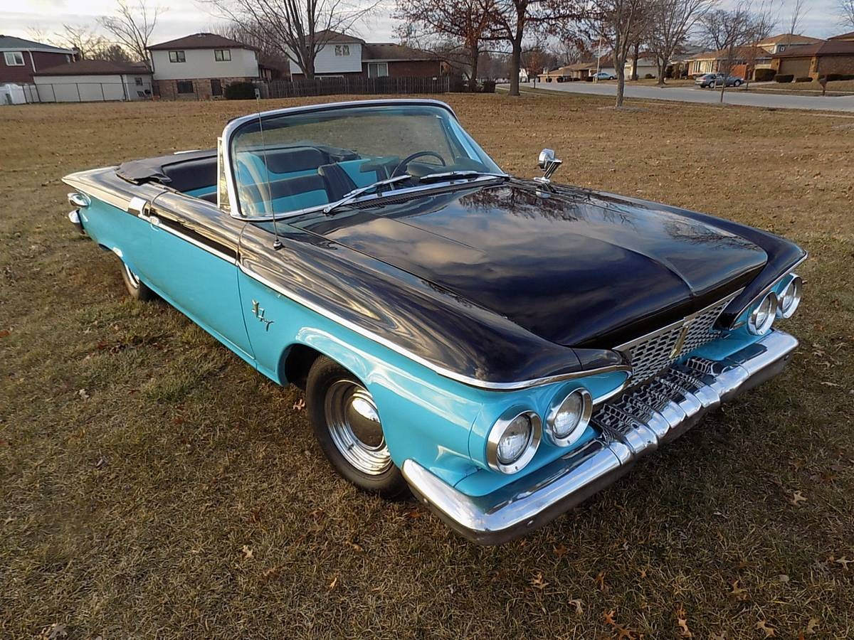 Used 1961 Plymouth Sport Fury -Blue Beauty-Top down Convertible-Fun Classic car- | Mundelein, IL